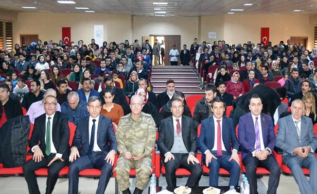 Erciş'te' Organ ve Doku Bağışı' Konulu program
