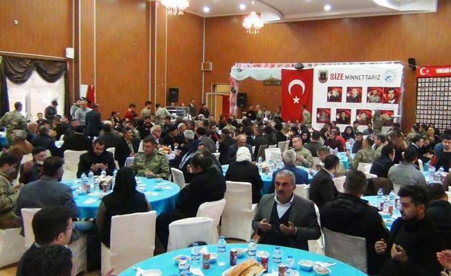 Erciş'te 'Vefa Projesi' kapsamında şehitler için mevlit okutuldu