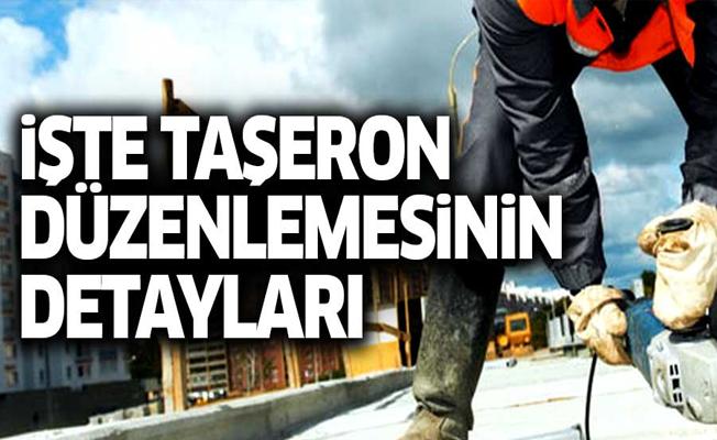 Erdoğan'ın açıkladığı taşeron düzenlemesinin detayları