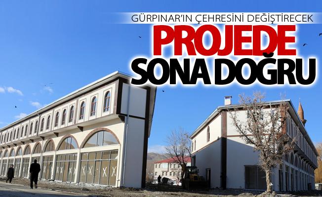 Gürpınar'ın çehresini değiştirecek projede sona gelindi