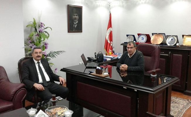 Müdür Göksoy'dan Başkan Şahin'e ziyaret