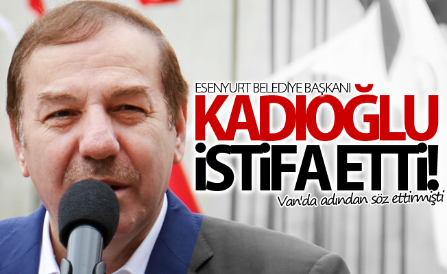 Necmi Kadıoğlu istifa etti!