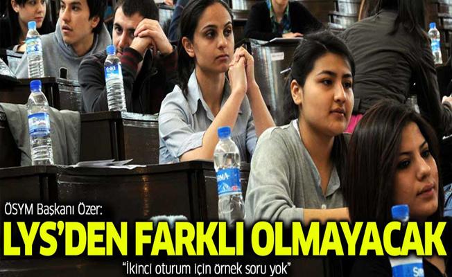 ÖSYM Başkanı Özer'den sınav açıklaması
