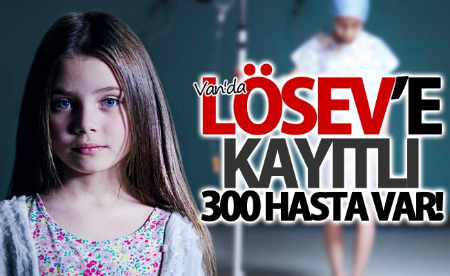 Van'da LÖSEV'e kayıtlı 300 hasta var