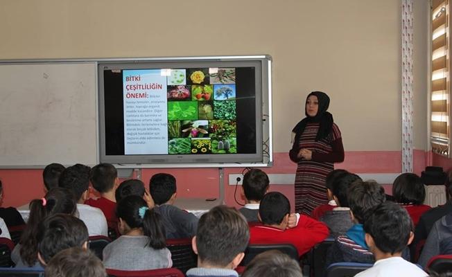 """Van'da öğrencilere yönelik """"biyolojik çeşitlilik'' eğitimleri"""