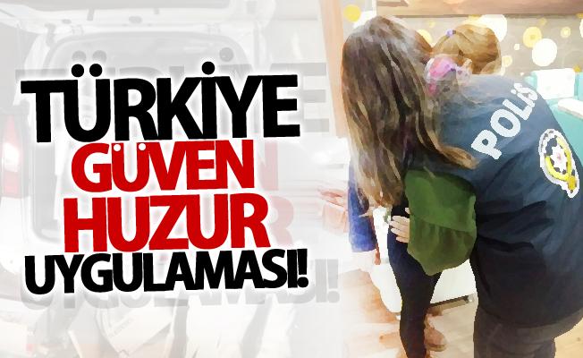 Van'da 'Türkiye Güven Huzur' uygulaması