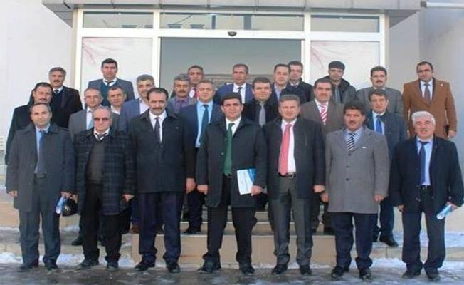 Erciş'te lise müdürleri bir araya geldi