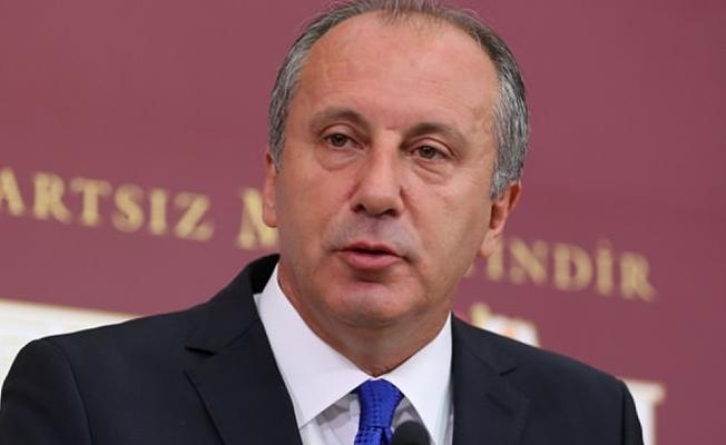 İnce CHP'de genel başkanlığa aday