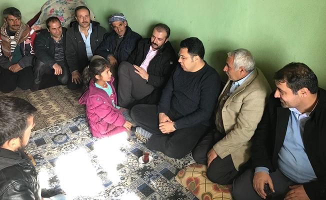 Kaymakam Özcan'dan taziye ziyareti