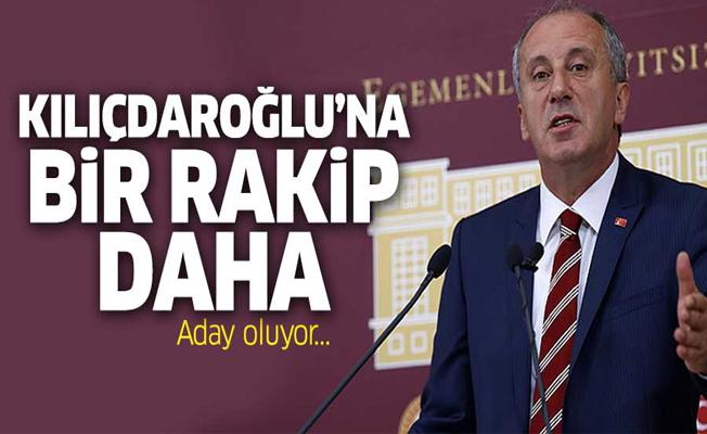 Muharrem İnce de CHP Genel Başkanlığa aday oluyor