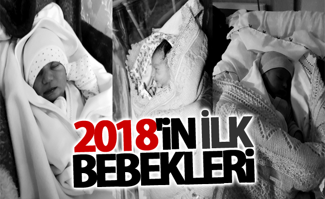 Van'da yeni yılın ilk bebekleri dünyaya geldi