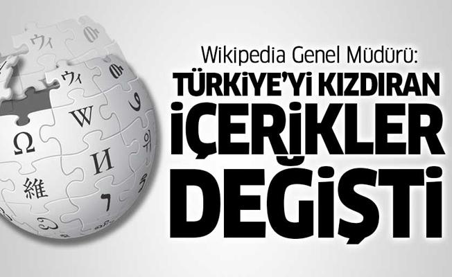 Wikipedia Genel Müdürü: Yasağa sebep olan o içerikler değişti