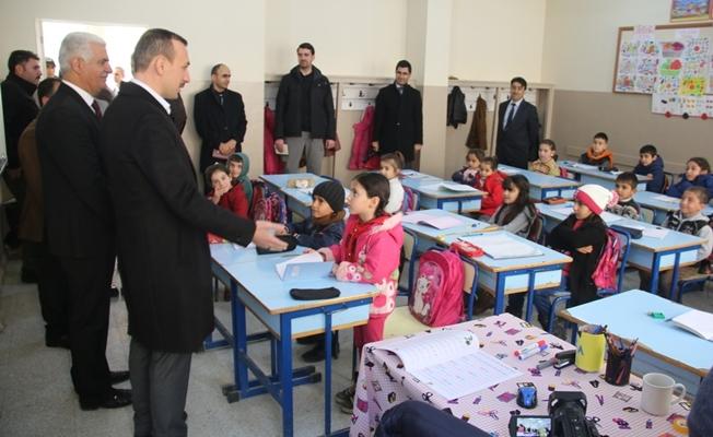 Çiçekli'den öğrencilere ziyaret