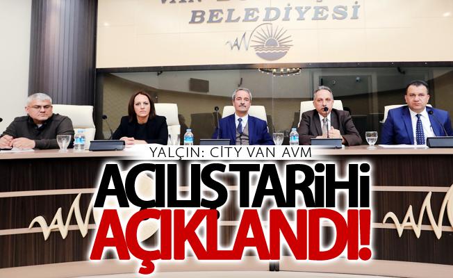 City Van AVM açılış tarihi belli oldu