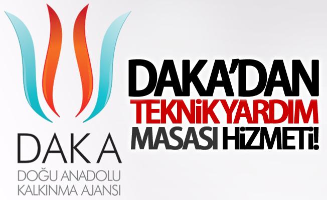DAKA'dan 'Teknik Yardım Masası' hizmeti