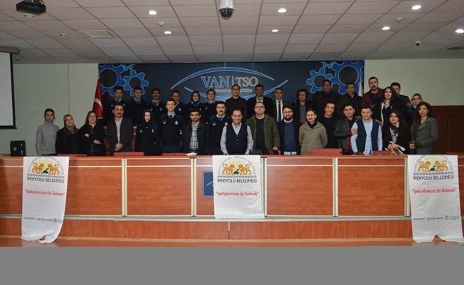 İpekyolu Belediyesi'nde hizmet içi eğitimler devam ediyor
