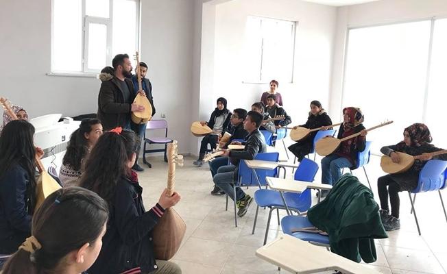 Saray belediyesin müzik kursları