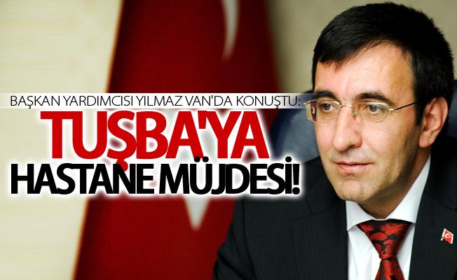 Başkan Yardımcısı Yılmaz'dan Tuşba'ya hastane müjdesi