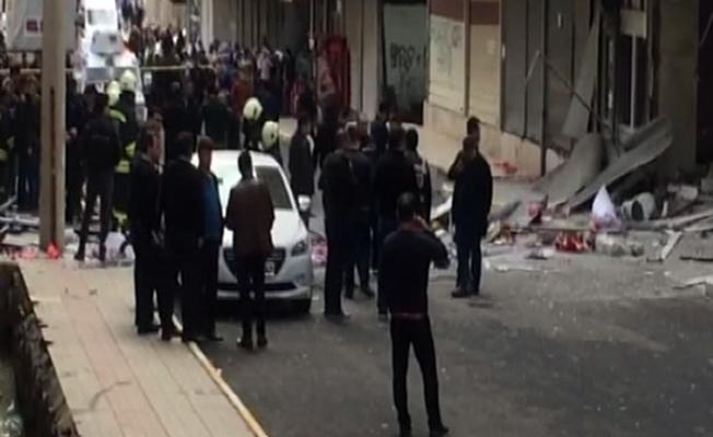 Diyarbakır'da korkutan patlama! Yaralılar var
