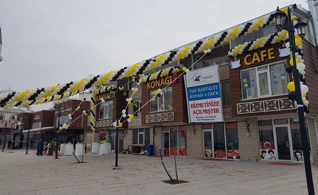 Edremit'te 'Van Kahvaltı Konağı' açıldı