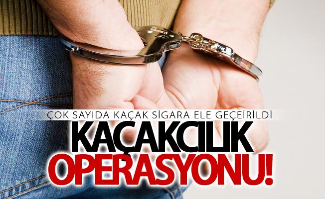Erciş'te kaçak sigara operasyonu! Çok sayıda sigara ele geçirildi