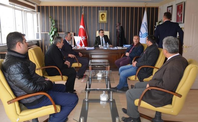 Muradiye'de SGK bürosu çalışması