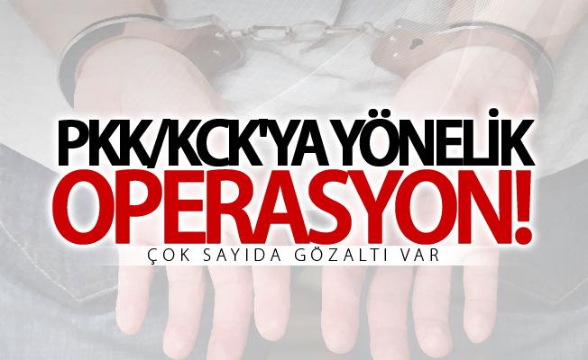 Van'da PKK/KCK operasyonu! Çok sayıda gözaltı var