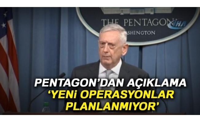 ABD Savunma Bakanlığı'ndan açıklama