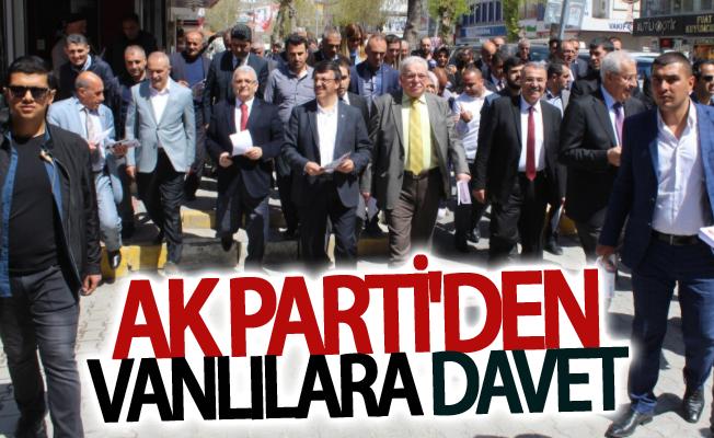 AK Parti Vanlıları 6. Olağan İl Kongresine davet etti