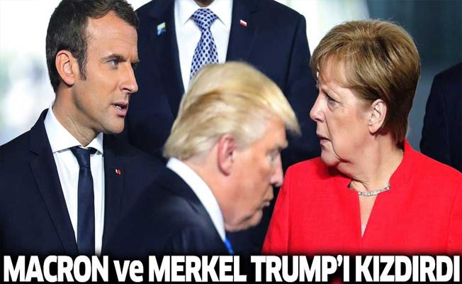 Almanya ve Fransa'nın Skripal kararı Trump'ı kızdırdı