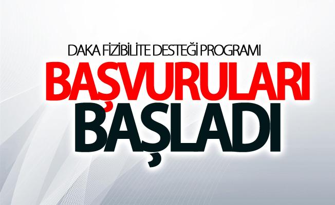 DAKA Fizibilite Desteği Programı başvuruları başladı