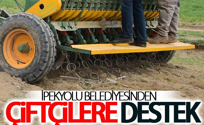İpekyolu Belediyesinden çiftçilere destek