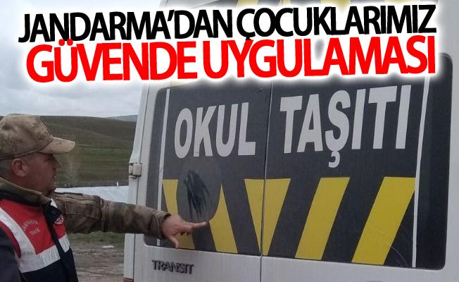 """Jandarma'dan """"Çocuklarımız güvende"""" uygulaması"""