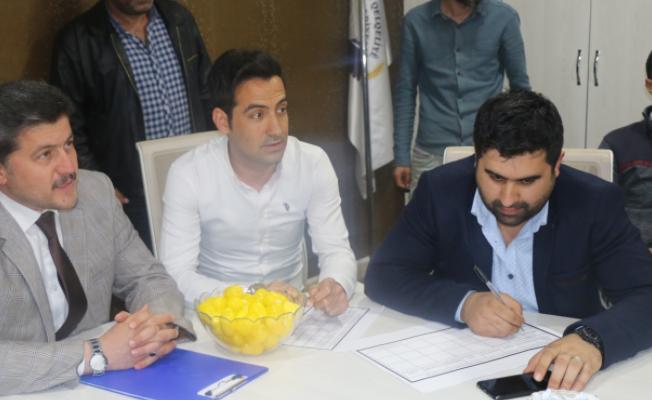 Özalp Belediyesi Geleneksel Futbol Turnuvası kura çekimi