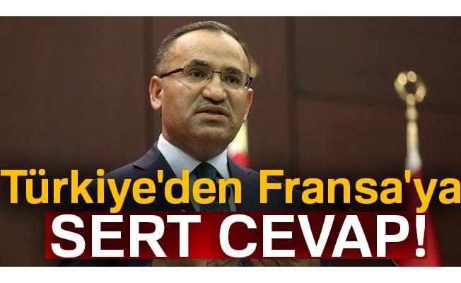 Türkiye'den Fransa'ya sert cevap!