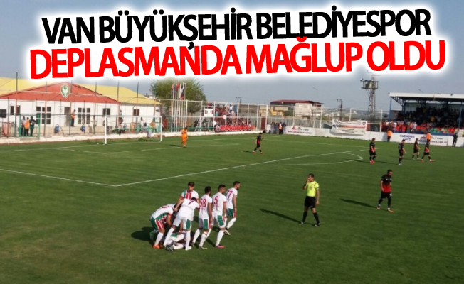 Van Büyükşehir Belediyespor deplasmanda mağlup oldu