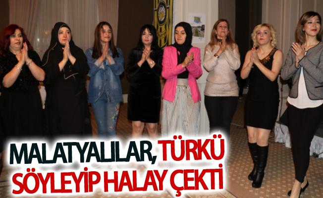 Van'daki Malatyalılar gecesinde türküler söylenip halaylar çekildi