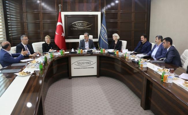 ABD Adana Konsolosundan Van TSO'ya ziyaret