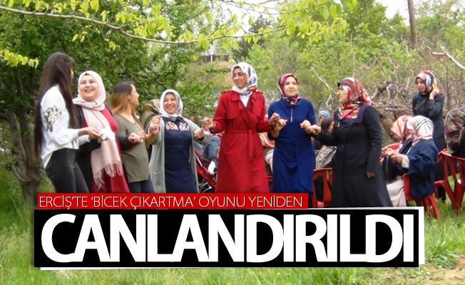 'Bicek Çıkartma' oyunu Erciş'te yeniden gün yüzüne çıkartıldı