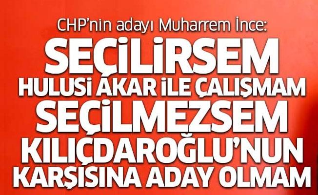 CHP'nin Cumhurbaşkanı adayı Muharrem İnce soruları yanıtladı