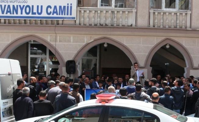 Erciş'ten ABD'nin Kudüs kararına tepki