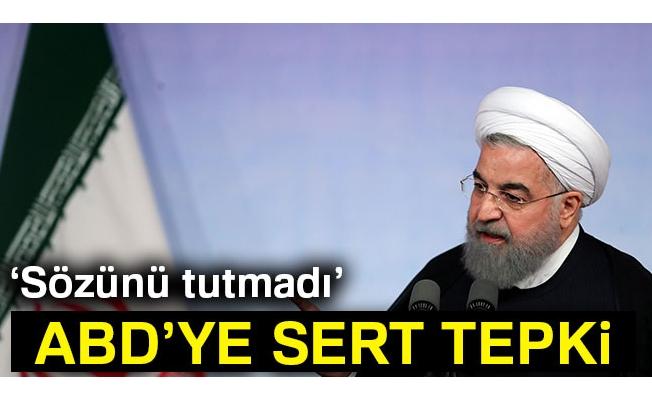 """İran Devlet Başkanı Ruhani: """"Hiçbir hatamız, yanlışımız olmadı"""""""