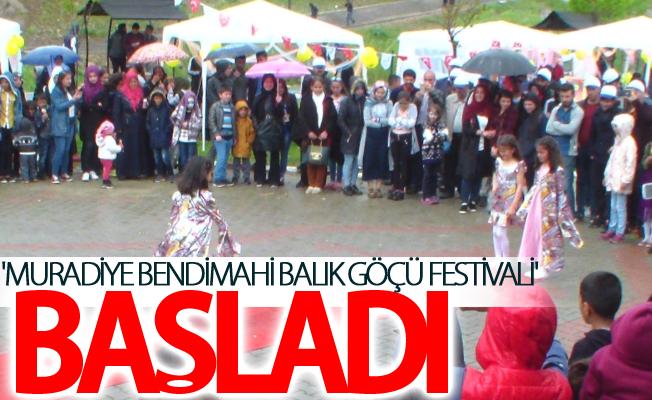 'Muradiye Bendimahi Balık Göçü Festivali' başladı