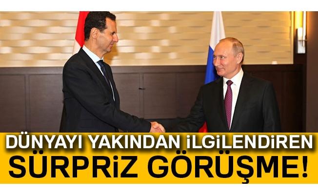 Putin ve Esad Suriye'yi görüştü
