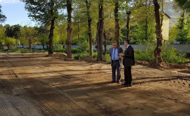 Tatvan'a 9 bin metrekarelik yeni park kazandırılıyor