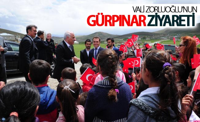 Vali Zorluoğlu'nun Gürpınar ziyareti