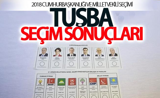 2018 Van-Tuşba seçim sonuçları