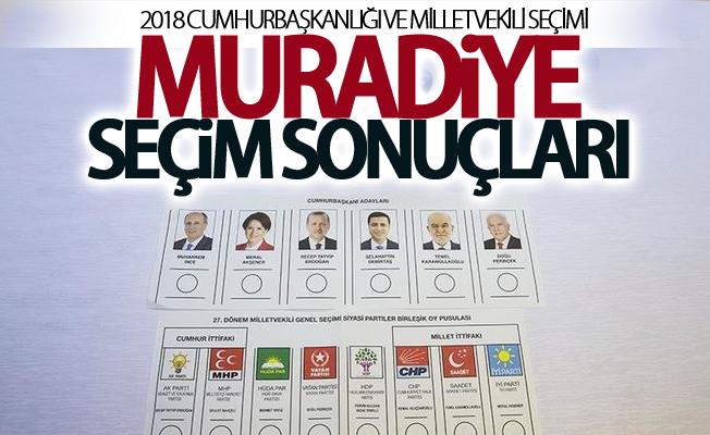 2018 Van-Muradiye seçim sonuçları