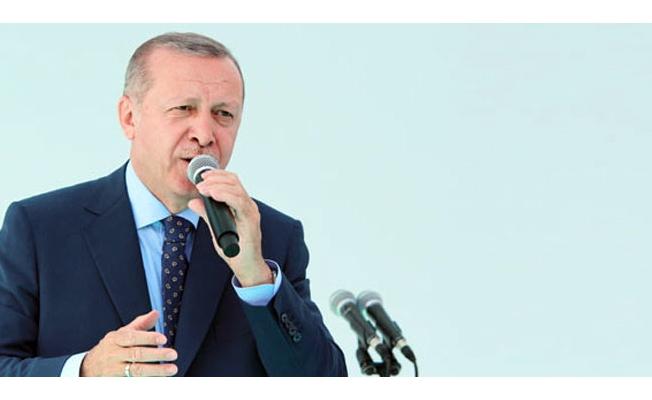 Cumhurbaşkanı Erdoğan: 'Biz yapacaklarımızı, onlar yıkacaklarını anlatıyor'