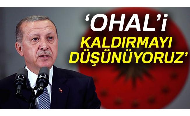 Cumhurbaşkanı Erdoğan'dan OHAL açıklaması: Seçimden sonra...
